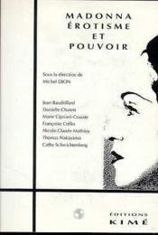 Madonna Erotisme Et Pouvoir - Couverture - Format classique