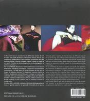 Rouge - l'art de tim yip - 4ème de couverture - Format classique
