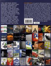 Design in Europe 2008/2009 ; 40 agences, 40 briefs, 40 stratégies, 40 créations - 4ème de couverture - Format classique