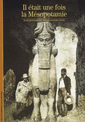 Il était une fois la Mésopotamie - Couverture - Format classique