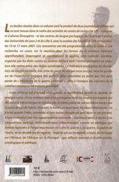 Poétique de l'écriture d'une expérience de guerre ; la littérature postcoloniale en langue portugaise - 4ème de couverture - Format classique