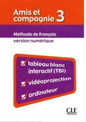 AMIS ET COMPAGNIE ; français ; niveau 3 - Couverture - Format classique