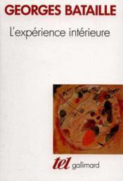 L'experience interieure - Couverture - Format classique