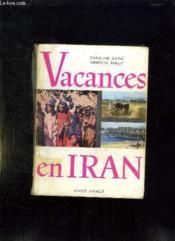 Vacances En Iran. - Couverture - Format classique
