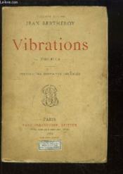 Vibrations. - Couverture - Format classique