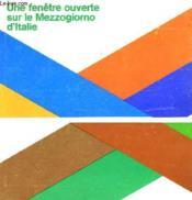 Une Fenetre Ouverte Sur Le Mezzogiorno D'Italie - Couverture - Format classique