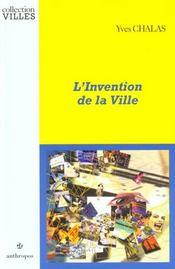 L'Invention De La Ville - Intérieur - Format classique