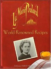La mère Poulard ; world-renowned recipes - Couverture - Format classique