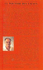 Pouvoir Des Exclus (Le) - 4ème de couverture - Format classique