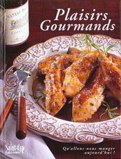 Plaisirs Gourmands - Intérieur - Format classique