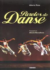 Paroles de danse - Intérieur - Format classique