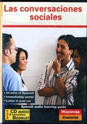 Hispanica : las conversaciones - Couverture - Format classique