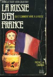 La Russie D'En France - Couverture - Format classique