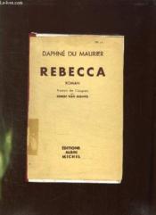 Rebecca. - Couverture - Format classique