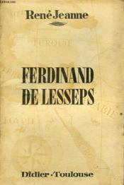 Ferdinand De Lesseps - Couverture - Format classique
