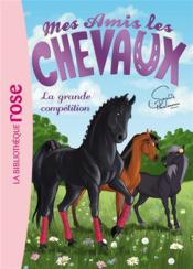 Mes amis les chevaux T.2 ; la grande compétition - Couverture - Format classique