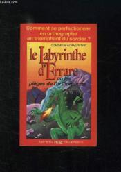 Le Labyrinthe d'Errare - Couverture - Format classique