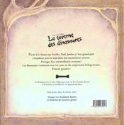 Une Nuit Dans La Caverne Des Dinosaures - 4ème de couverture - Format classique