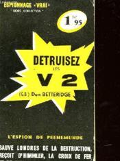 Detruisez Les V 2 - Couverture - Format classique