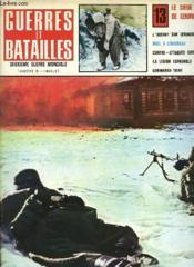 Geurres Et Batailles - 13 - Le Siege De Leningrad - Couverture - Format classique
