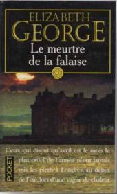 Le Meurtre De La Falaise - Couverture - Format classique