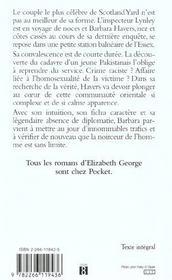 Le Meurtre De La Falaise - 4ème de couverture - Format classique