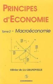 Principes d'economie, tome 2 - Couverture - Format classique