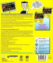 Windows 98 Pour Les Nuls - 4ème de couverture - Format classique