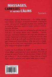 Massages, caresses et autres câlins - 4ème de couverture - Format classique