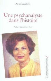 Une psychanalyste dans l'histoire - Intérieur - Format classique