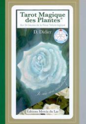 Le tarot magique des plantes - Couverture - Format classique