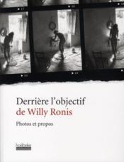 telecharger Derriere l'objectif de Willy Ronis livre PDF en ligne gratuit