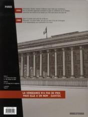 Dantès t.1 ; la chute d'un trader - 4ème de couverture - Format classique