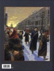 Mattéo T.2 ; deuxième époque (1917-1918) - 4ème de couverture - Format classique