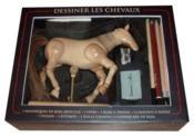 Dessiner les chevaux ; coffret - Couverture - Format classique