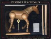 Dessiner les chevaux ; coffret - 4ème de couverture - Format classique