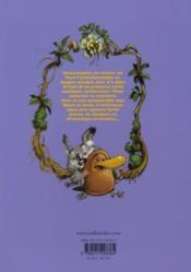 Toto l'ornithorynque T.1 ; Toto l'ornithorynque et l'arbre magique - 4ème de couverture - Format classique