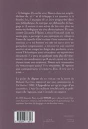 La septième fonction du langage - 4ème de couverture - Format classique