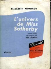 L Univers De Miss Sotherby. - Couverture - Format classique