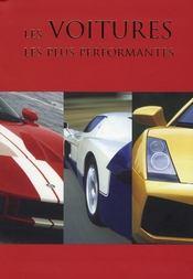 Les voitures les plus performantes - Intérieur - Format classique
