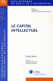Le Capital Intellectuel - Intérieur - Format classique