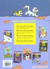 Billy The Cat T.7 ; La Bande A Billy - 4ème de couverture - Format classique