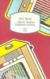 Olivetti, Moulinex, Chaffoteaux et Maury - Intérieur - Format classique