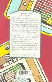 Olivetti, Moulinex, Chaffoteaux et Maury - 4ème de couverture - Format classique