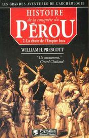 Histoire De La Conquete Du Perou T2 - Intérieur - Format classique