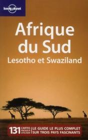 Afrique du Sud ; Lesotho et Swaziland - Couverture - Format classique