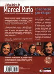 L'abécédaire de Marcel Rufo ; comprendre pour éduquer - 4ème de couverture - Format classique