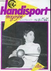 HANDISPORT MAGAZINE 25e ANNEE N°54 - XII CHALLENGE ELF AQUITAINE - Couverture - Format classique