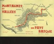 Montagnes Et Vallees En Pays Basque - Couverture - Format classique