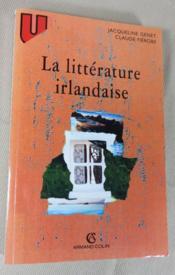 La littérature irlandaise. - Couverture - Format classique
